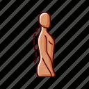 posture, back health, standing, pose