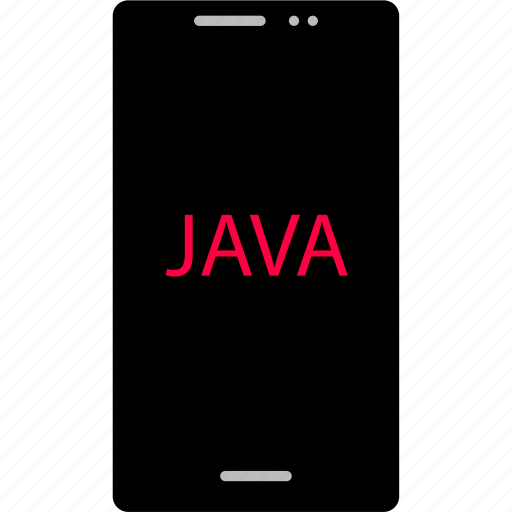 back, cell, development, end, java, phone, web icon