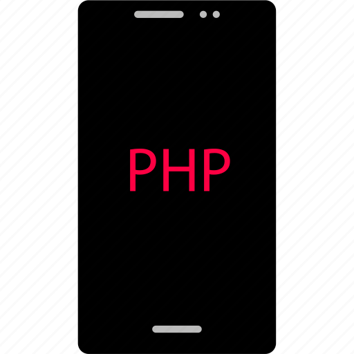 back, cell, development, end, phone, php, web icon