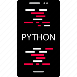 back, cell, code, development, end, python, web icon