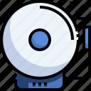 alarm, bell, school, security icon