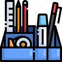 stationery, tool, education, office, equipment icon