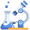 observation, biology, science, testing, microscope icon