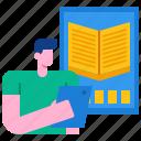 book, digital, ebook, education, internet, tablet, technology