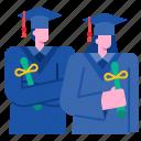 college, diploma, education, graduation, student, university