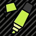 highlight, highlighter, pen, write, writing icon
