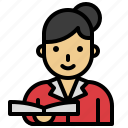 avatar, professor, school, teacher, women icon