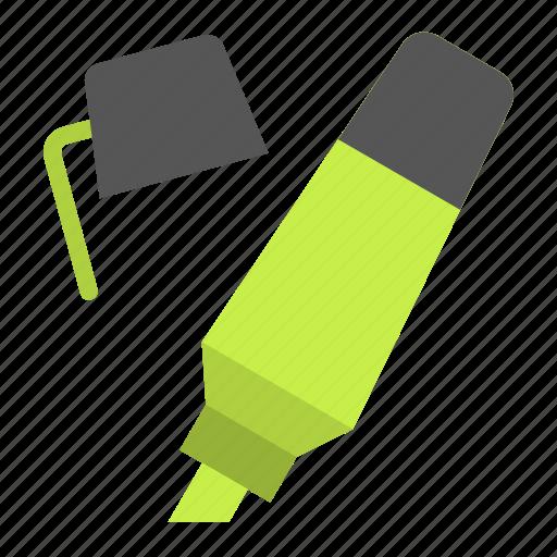 highlight, highlighter, pen, school, writing icon