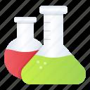 beaker, chemistry, research, school, test tube icon