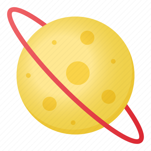 astronomy, saturn, school, science, star icon