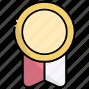 badge, award, medal, winner, achievement, prize, reward