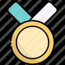 medal, award, winner, prize, badge, achievement, reward