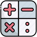 calculator, calculation, math, mathematics, education, school, learning