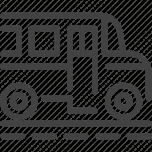 bus, car, school, transport, vehicle icon