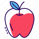 apple, food, fruit, healthy diet, nutrition icon