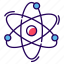 atom bond, atomic bond, chemical bond, molecular structure, molecule icon