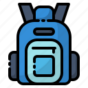 backpack, bag, briefcase, education, school