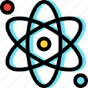 atom, education, school, science icon