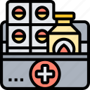 first, aid, kit, emergency, medical