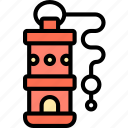 whistle, blowing, alarming, sound, attention icon