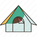 tent, camping, shelter, hiking, adventure