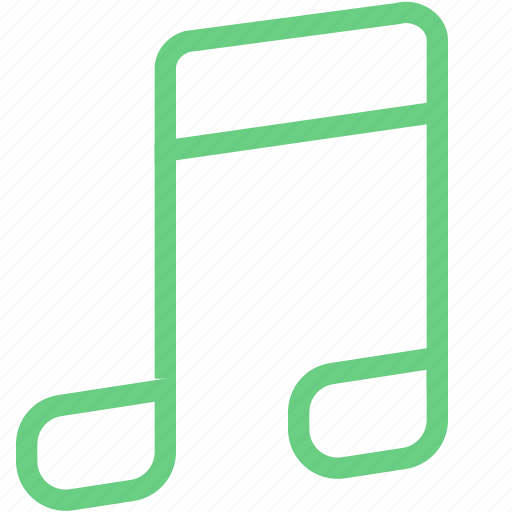 audio, melody, music, note, player icon