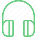 audio, headphones, headset, listen, music, player, volume icon