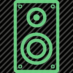 acoustics, audio, music, radio, sound, speaker, volume icon