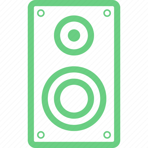 acoustics, audio, music, radio, sound, speaker, volume icon