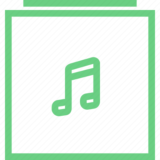 audio, collection, folder, library, music, player icon