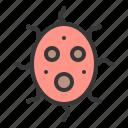 bacteria, cell, disease, lab, micro organism, virus icon