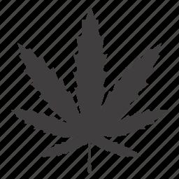 cannabis, drug, hashish, hemp, leaf, marihuana, marijuana icon