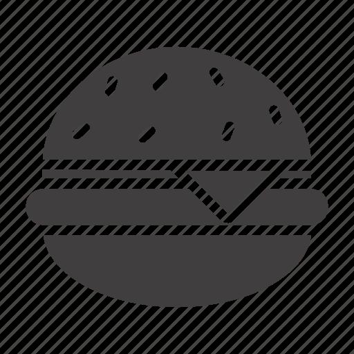 beefburger, cheeseburger, fast-food, hamburger, unhealthy icon