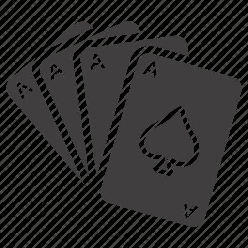 cards, casino, gamble, gambling, game, play, poker icon