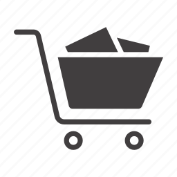 basket, buy, cart, purchases, shop, shopping, trolley icon