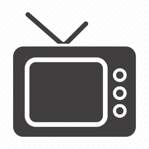 display, media, television, tv, tv-set, watch icon