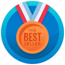 bronze medal, medal, old medal, success award, medal achievement icon