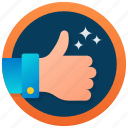 thumbs up emoticon, thumbs up symbol, thumbs up logo, thumbs up, good job icon