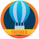 achievement, marker, token, stamp, medallion, fresher badge, reward icon