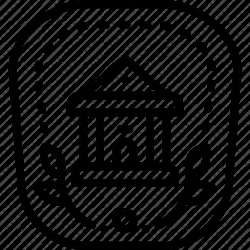 achievement, award, badge, bank, banking, finance, logo icon