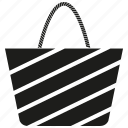 bag, fashion bag, hand bag, shopping, valise icon