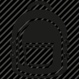 backpack, bag, school bag icon