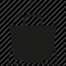 bag, fashion bag, hand bag, shopping icon