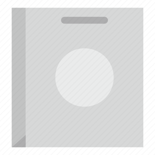 bag, box, buy, commerce, commercial, empty, paper bag icon