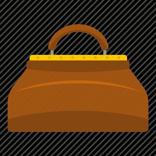 apparel, bag, baggage, beautiful, carpetbag, casual, cloth icon