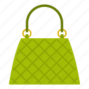 apparel, bag, baggage, beautiful, beautiful bag, casual, cloth icon