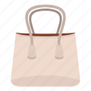 apparel, bag, baggage, beautiful, casual, cloth, small woman bag icon