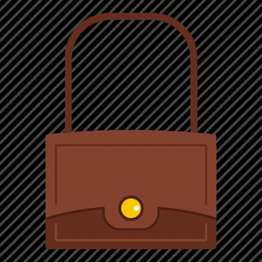 apparel, bag, baggage, beautiful, casual, cloth, little bag icon