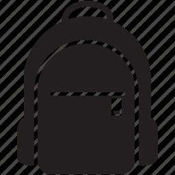 backpack, bag, rucksack, schoolbag icon