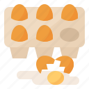 eggs, food, health, ingredient icon